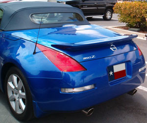 03 07 Nissan 350z Roadster Aggressive Rear Wing