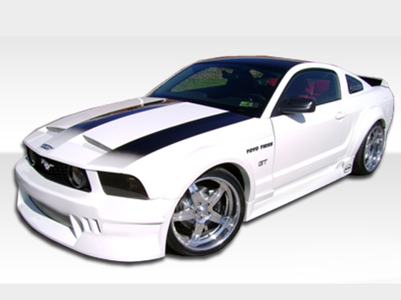 05 09 Ford Mustang Hot Wheels Complete Body Kit