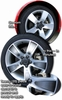 "08-09 Pontiac G8 Wheels Graphic Kit 19"" Factory"