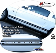 1994-2013 Ford Mustang Body Side Stripe Graphic Kit 14