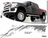 1998-2012 Ford Super Duty Raptor Style Body Side Graphics Kit 1