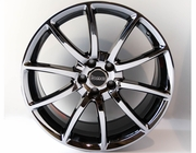 "Staggered 20"" Black Mamba Black Chrome Mustang Wheels 2005-2016, Set of 4"