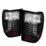 2001-2005 Ford Ranger LED Black Tail Lights