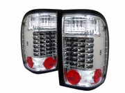 2001-2005 Ford Ranger LED Chrome Tail Lights