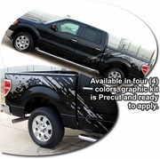 Ford F-150 Predator Body Side Graphics Kit 2004-2013