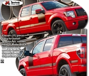 2004-2013 Ford F150 Body Side Graphics Kit 4