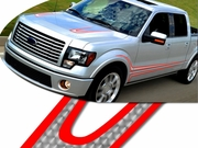 2004-2014 F150 Harley Davidson Style Body Side Graphics