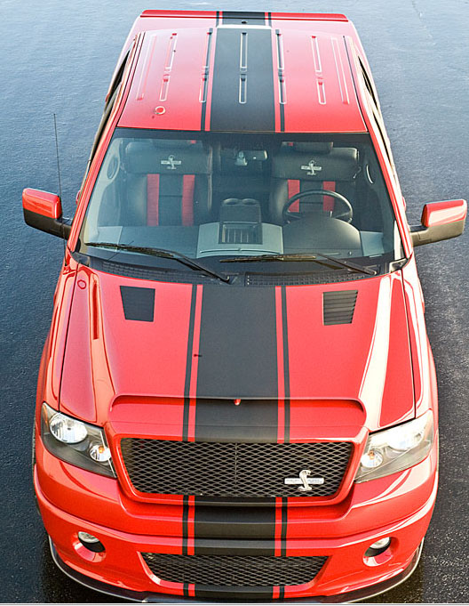 2005 2008 Ford F150 Shelby Supersnake Hood F 150 Truck
