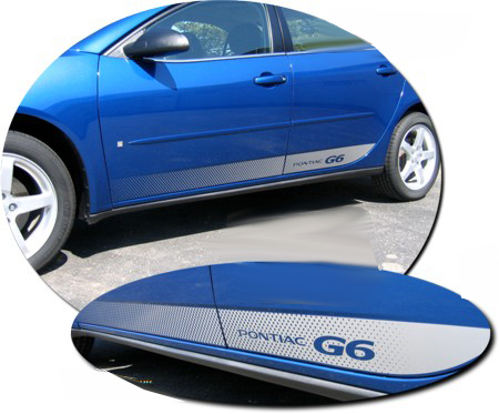 2005-2009 Pontiac G6 Body Side Graphic 1