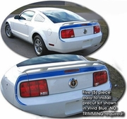 2005-2010 Ford Mustang Mach 1 Style Rear Lid and Fender Graphic Kit 1