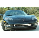 2005-2012 Chevrolet Corvette C6 Polished Stainless Shark Tooth Grille