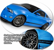 2005-2012 Ford Mustang Body Side Graphics Kit 18