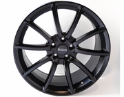 """Ford Mustang GT500 Mamba 20"""" Wheels, Set of 4, Staggered, Satin Black 2005-2014"""