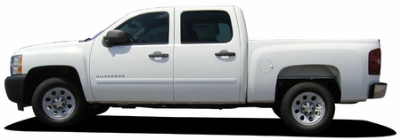 2007-2011 Chevrolet Tahoe Painted Body Side Moldings