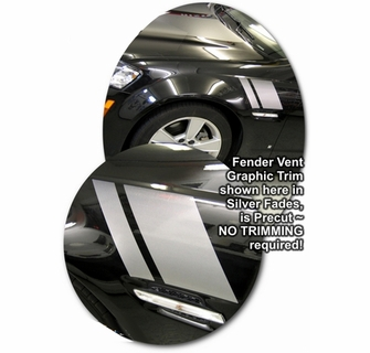 2008 2009 Pontiac G8 / Commodore Fender Vent Graphics Trim Kit