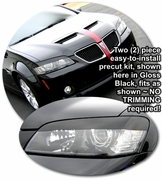 2008 2009 Pontiac G8 Headlight Eyelid Decal Kit 1