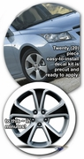 "2008-2015 Chevrolet Cruze 17"" Factory Wheels Graphics Decal Kit 2"