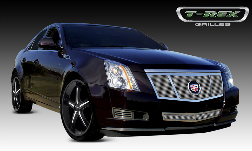 2008 2012 Cadillac Cts Polished Stainless Mesh Grille