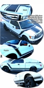 2009-2013 Ford F150 BOSS Style Graphics Kit 1