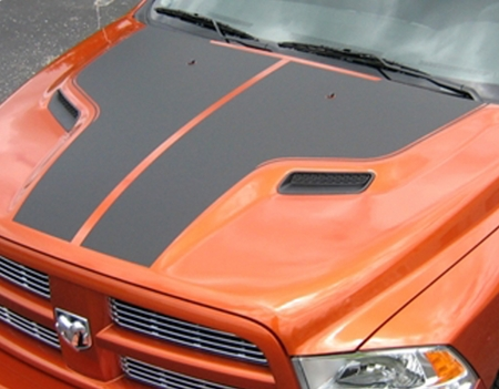 Dodge Ram 1500 Sport Performance Hood Graphics Kit 2009-2014