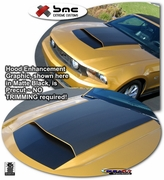2010 2011 Ford Mustang Hood Enhancement Graphics Kit 7