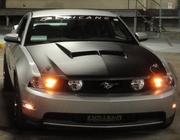 2010-2012 Ford Mustang SH-GT Style Ram Air Hood