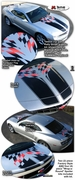 2010-2014 Chevrolet Camaro Instigator Rally Stripe Graphic Kit 2