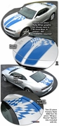 2010-2013 Chevrolet Camaro Instigator Rally Stripe Graphics Kit