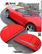 2010-2014 Chevrolet Camaro Side Body Graphic Kit 1