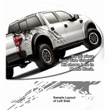 2010-2013 Ford F150 Raptor Body Side Graphics Kit 1