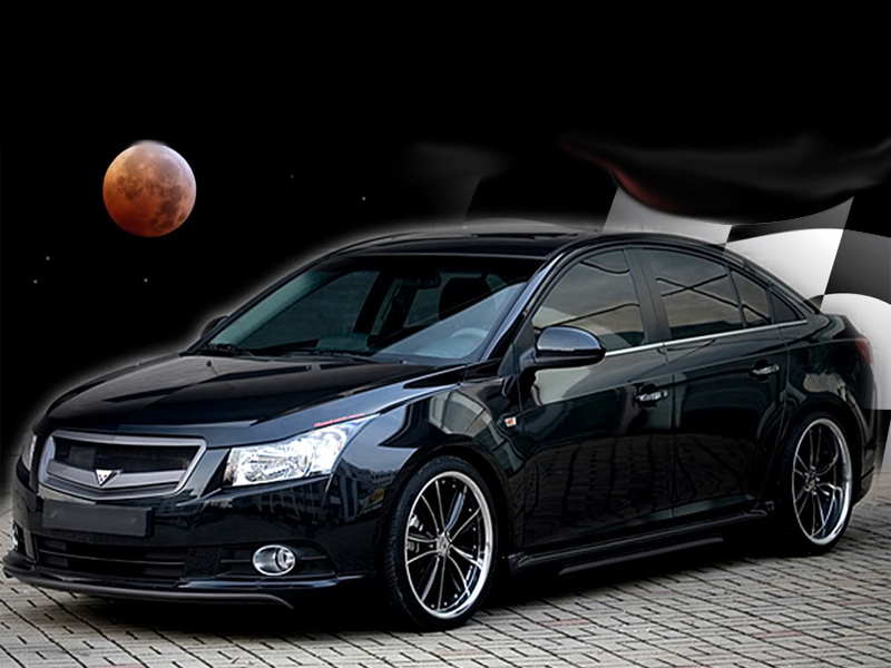 2010 2014 Chevrolet Cruze Predator Body Kit Ground