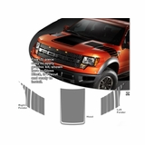 2010-2014  Ford F-150 SVT Raptor Graphic Kit 1