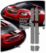 2010-2015 Chevrolet Cruze Rally Stripes Graphics Kit 1