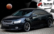 2011 2012 Chevrolet Cruze Predator Body Kit / Ground Effects