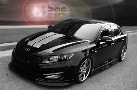 2011 2012 Kia Optima K5 II Body Kit Ground Effects
