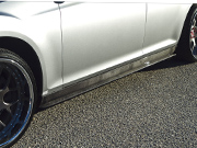 2011-2014  Chrysler  300  Carbon Fiber XR6 Side Skirts