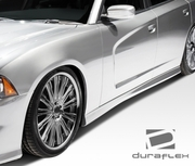 2011-2014 Dodge Charger Duraflex SRT Side Skirts