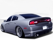 Dodge <H>Charger Rear Bumper</H> Hot Wheels Style 2011-2014