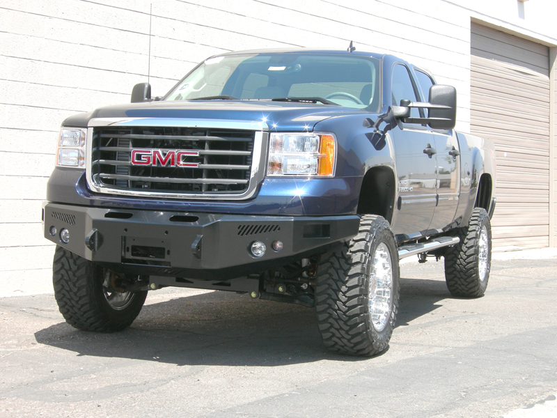 2011 GMC Sierra Front Bumper on 2015 Chevy Silverado 2500hd