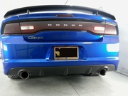 2011-2014 Charger SRT-8 Carbon Fiber LG164 Rear Diffuser