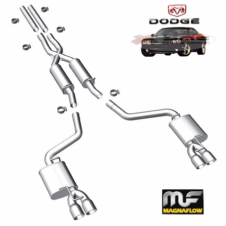 2011-2014 Dodge Challenger V6  3.6L Cat-Back Exhaust System