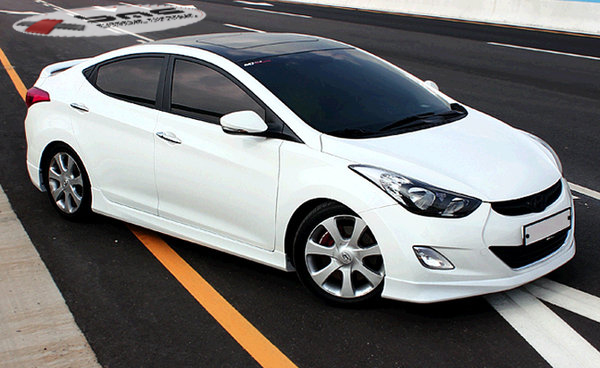2012 2014 Hyundai Elantra Mobis Body Kit