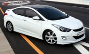 2012 2013 Hyundai Elantra Mobis Body Kit
