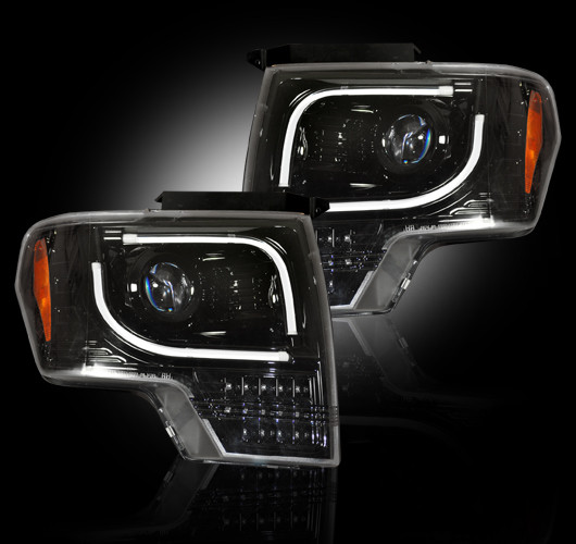 2013 2014 Ford F150 & RAPTOR RECON PROJECTOR HEADLIGHTS