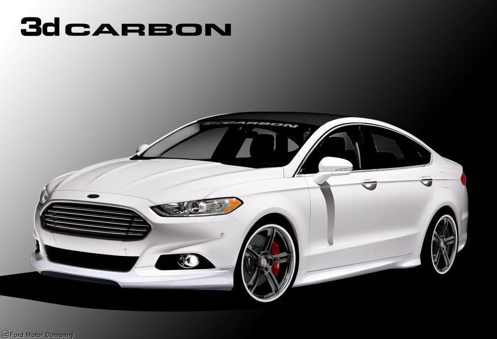 3d Carbon Ford Fusion Complete Body Kit 2013 2014