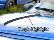 2015 2016 Ford F150 Hood Highlight Graphics Kit