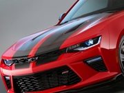 2016-2017 Camaro Rally Stripes Graphics Kit Factory Style