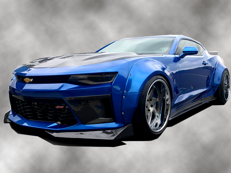 2016-2018 Chevrolet Camaro Grid Wide Body Kit 113304