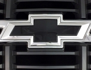 ABD Chevrolet Silverado Painted Bowties Insert Replacements 2014 Black OEM Paint Code GBA