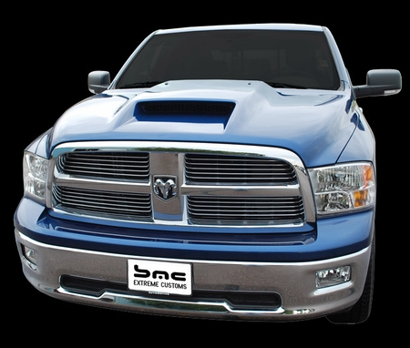APM Dodge Ram 1500 Power Ram Air Hood 2009-2014